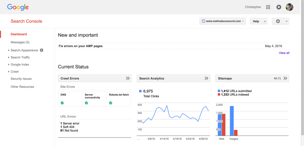 SEO Tools Google Search Console