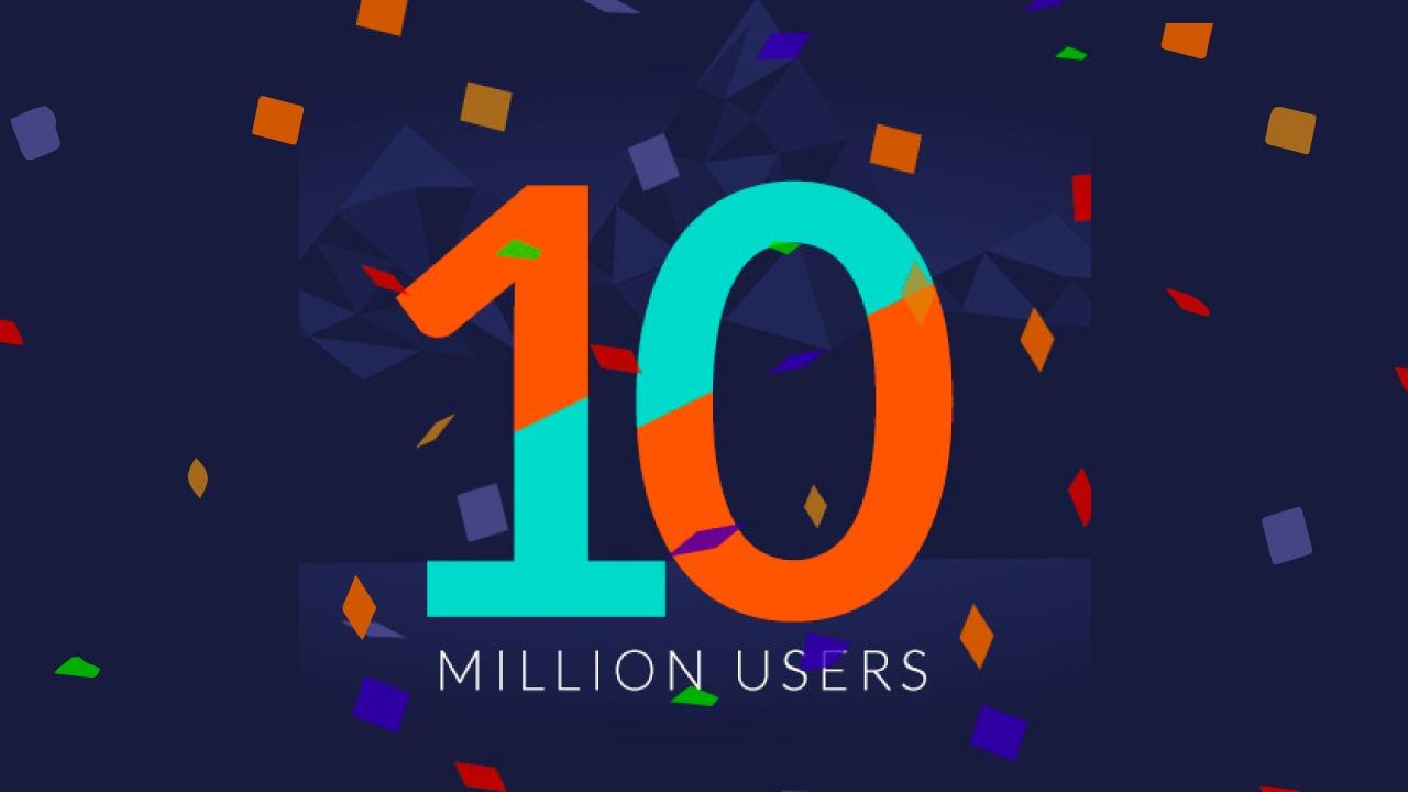 Terima kasih untuk 10.000.000 user member di Indonesia