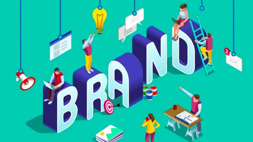 Definisi identitas merk, cara desain dan pengembangannya.