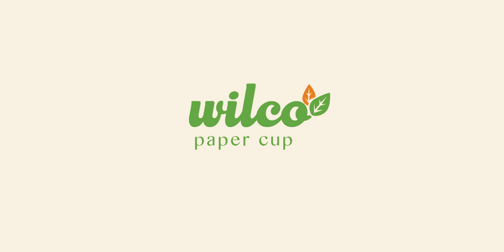 Logo Wilco Paper Cup