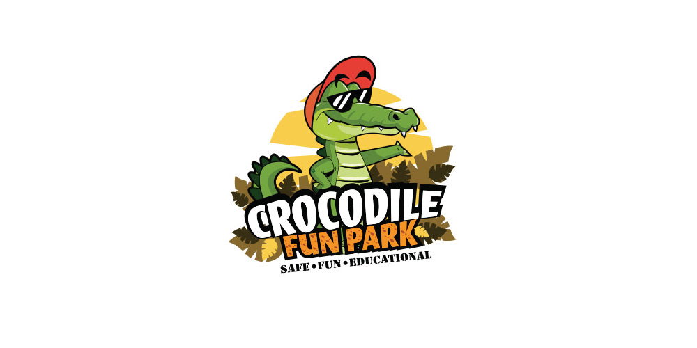Logo Crocodile Fun Park