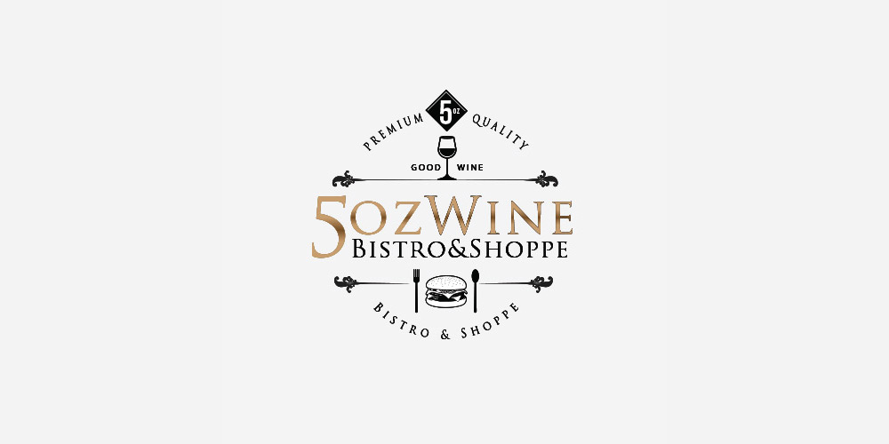 Logo 5oz Wine & Bistro