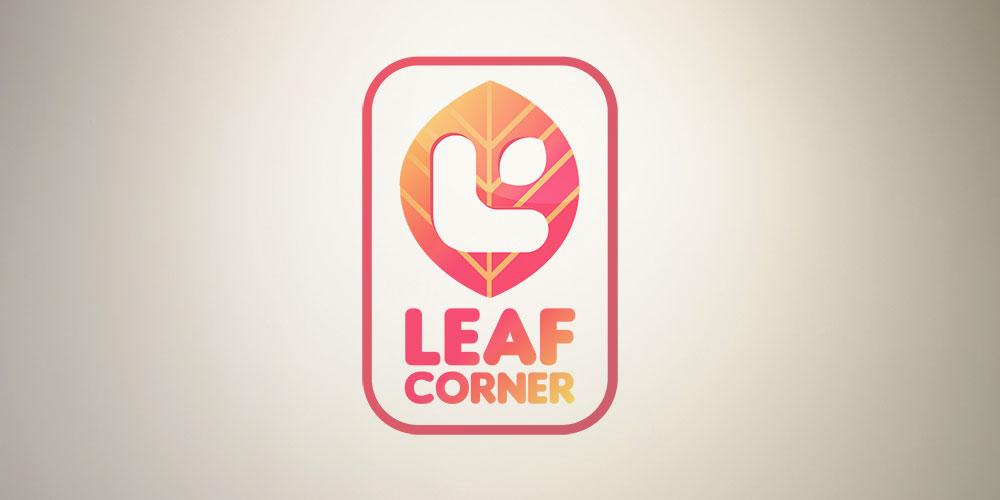 Logo Leaf Corner