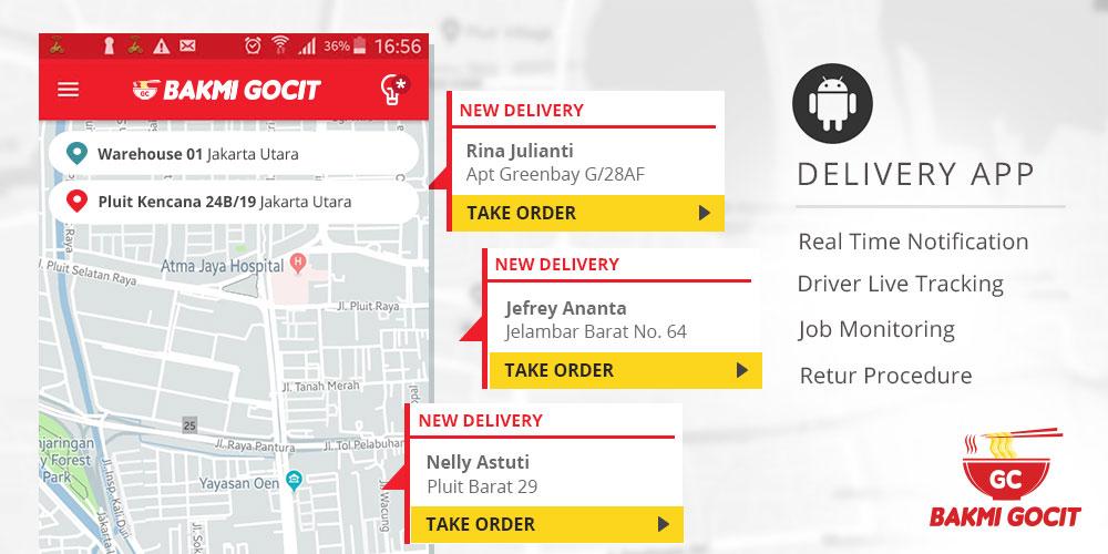 Bakmi Gocit Delivery App