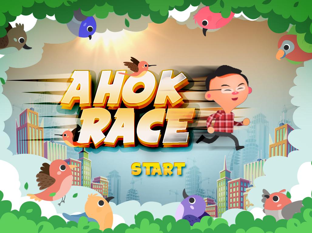 Ahok Race Game Development