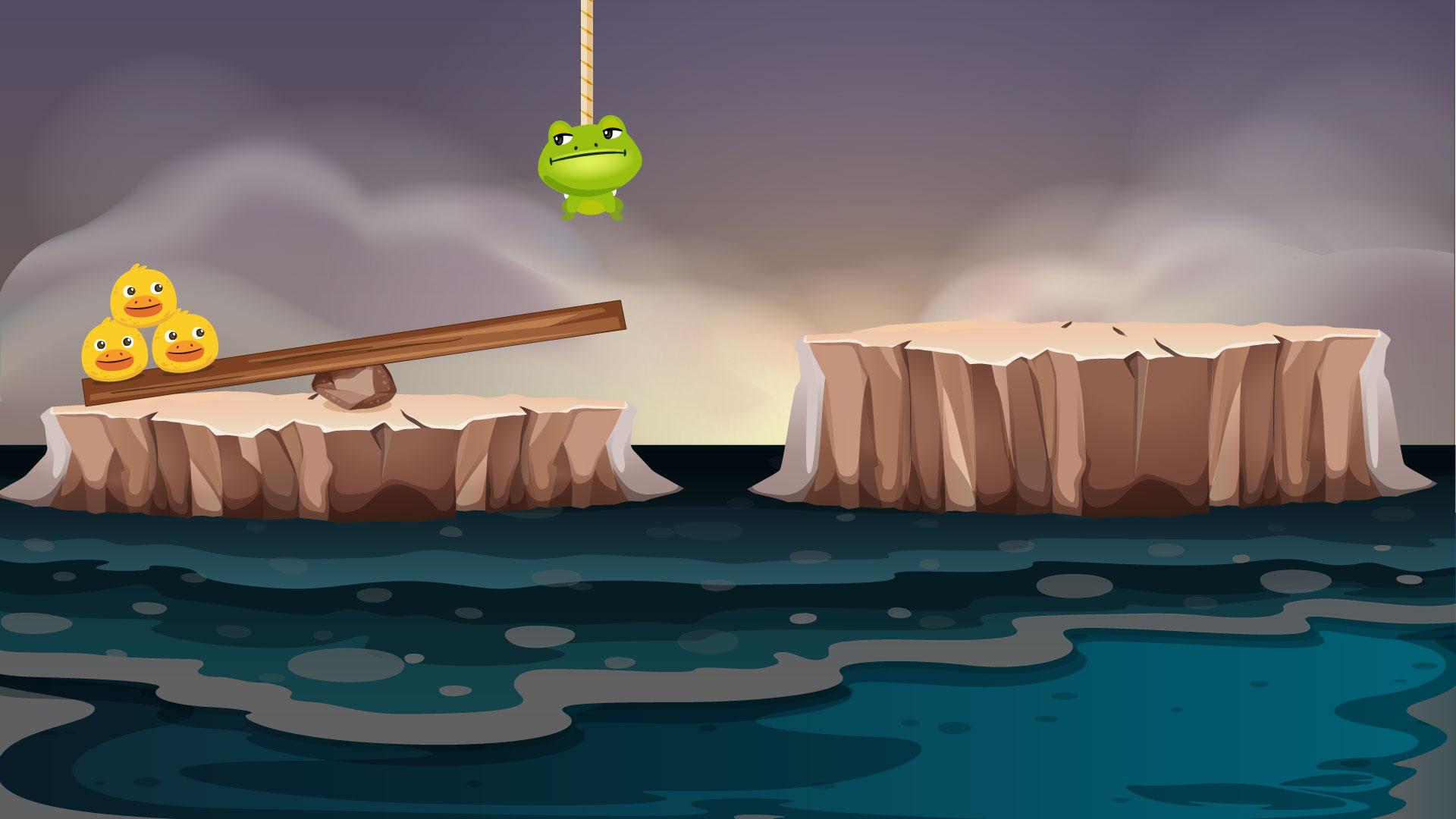 Pop the Frog Game Development