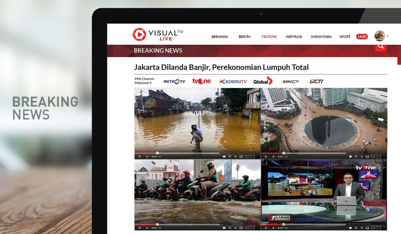 News Portal Visualtv.live