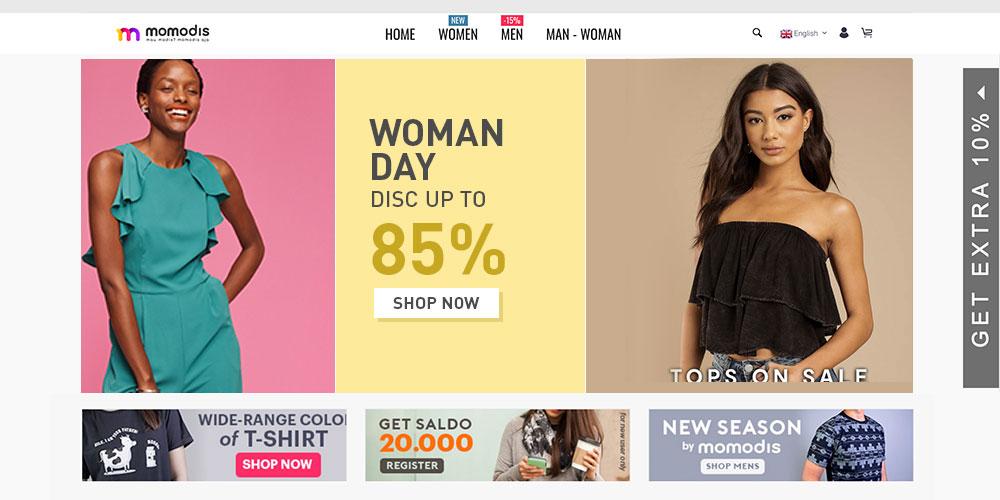 Momodis Fashion Marketplace