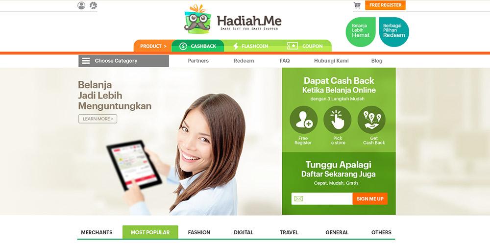 Hadiah.Me UI/UX Redesign Concept
