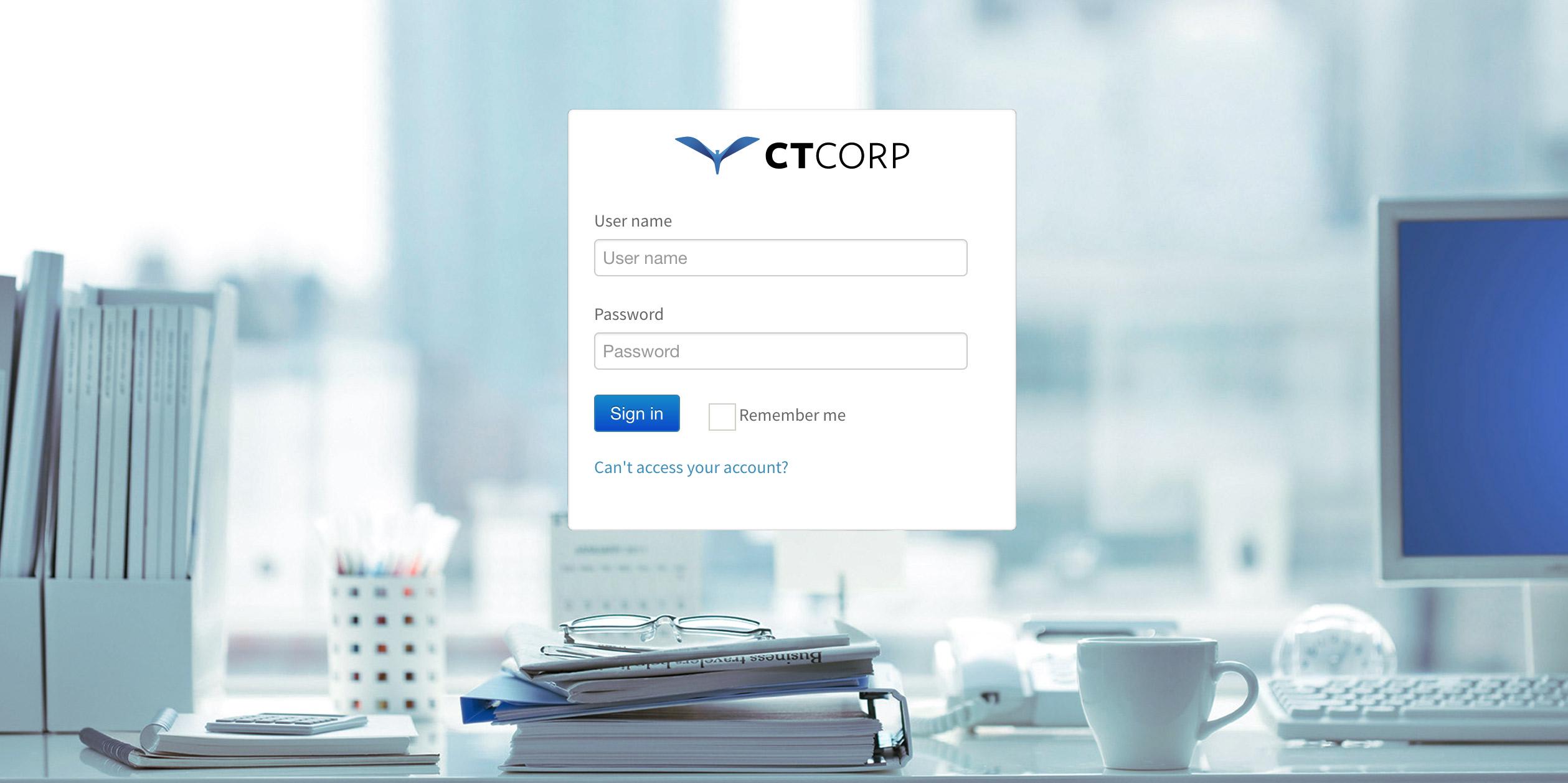 CT Corp Intranet