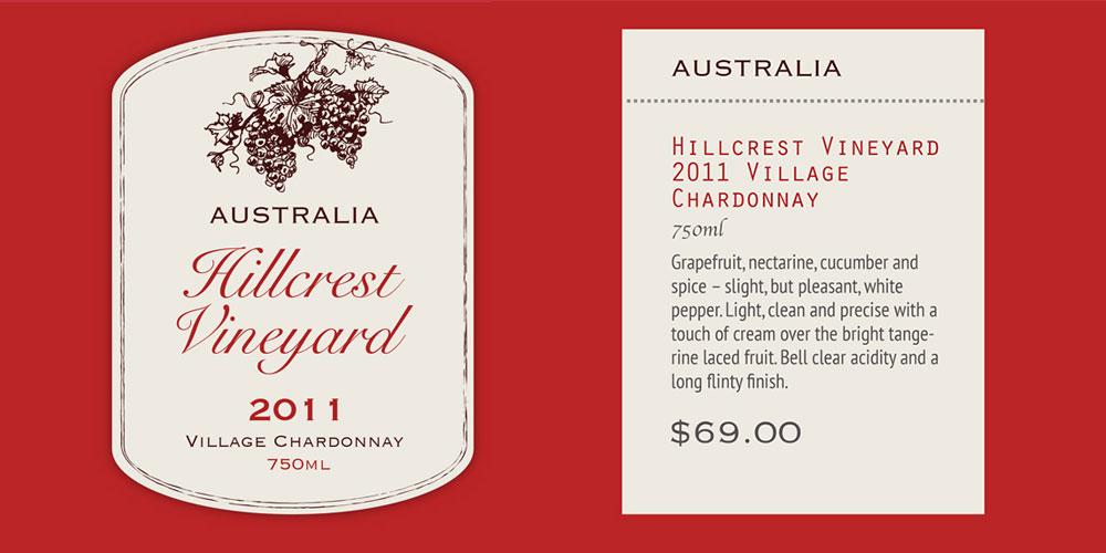 Wine Label 5oz Wine & Bistro