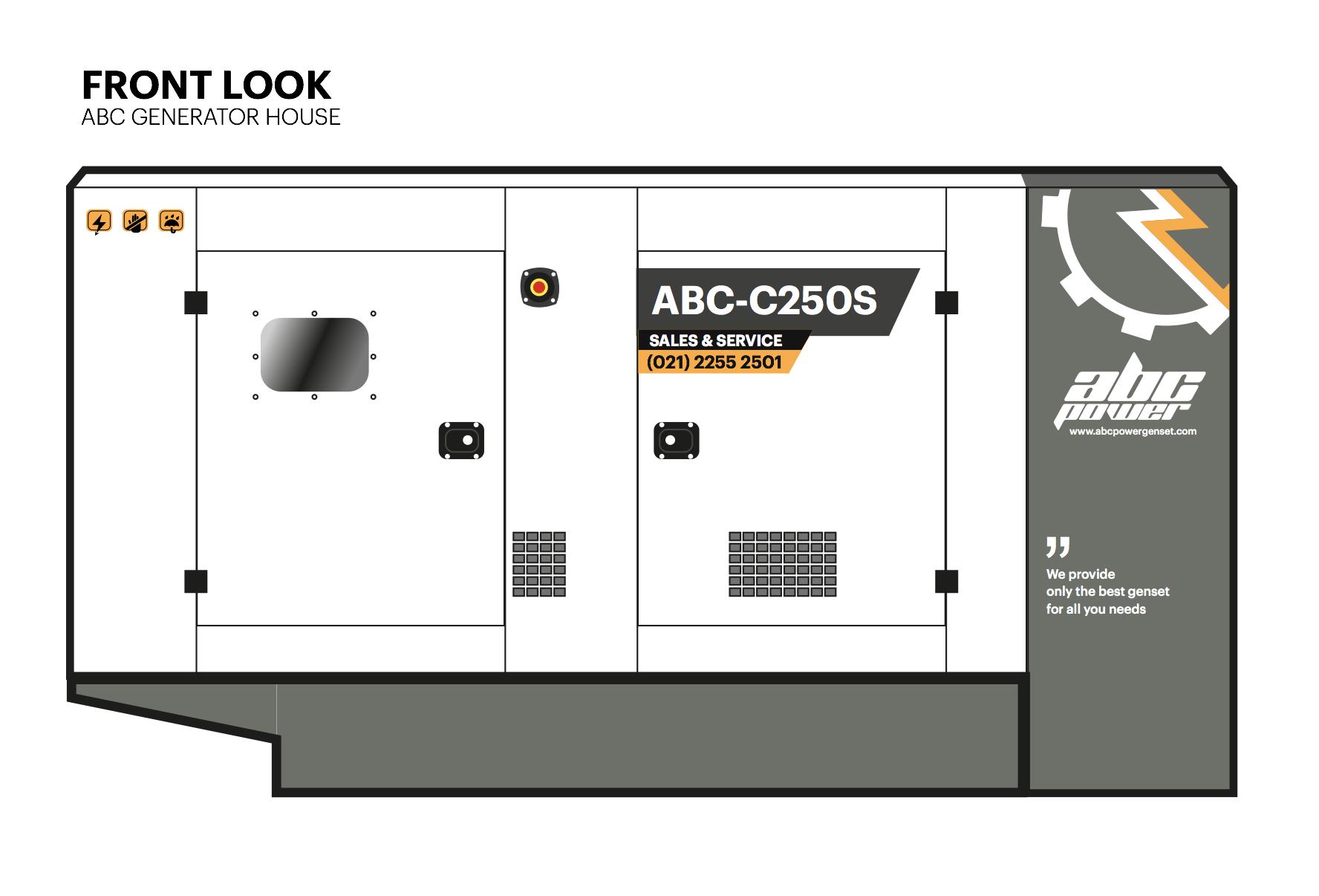 ABC Power Genset Packaging Design